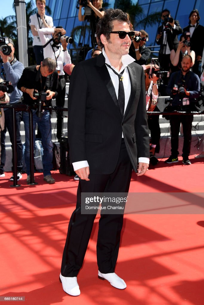 Composer Matthieu Chedid attends the 'Faces, Places (Visages, Villages)' screening during the 70th annual Cannes Film Festival at Palais des Festivals on May 19, 2017 in Cannes, France.
