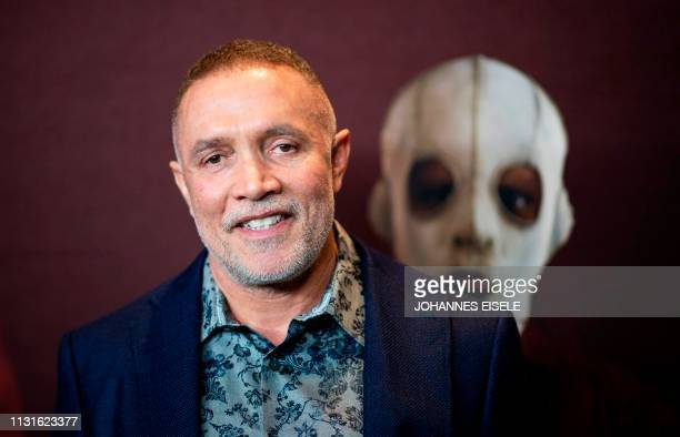 Composer Michael Abels arrives for the New York premiere of 'US' at the Museum of Modern Art on March 19 2019 in New York City