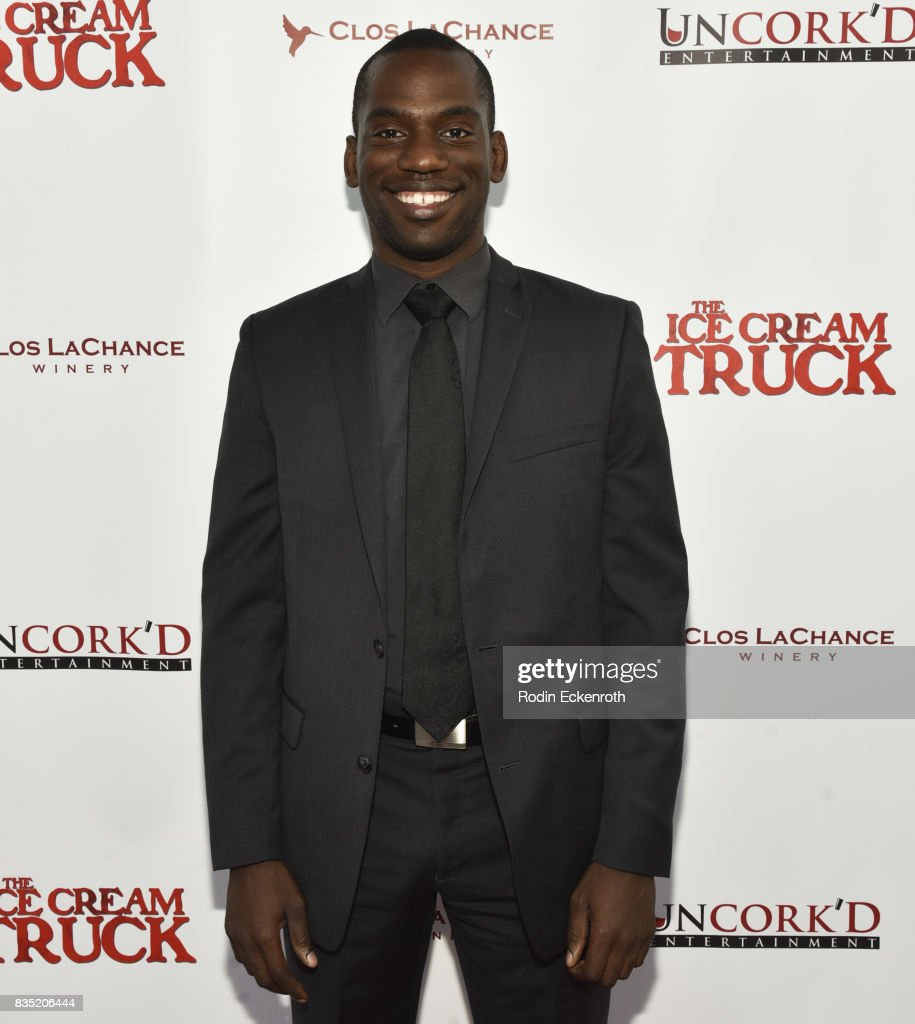 Composer Michael Boateng attends the premiere of Uncork'd Entertainment's 'The Ice Cream Truck' at Ahrya Fine Arts Movie Theater on August 17, 2017 in Beverly Hills, California.