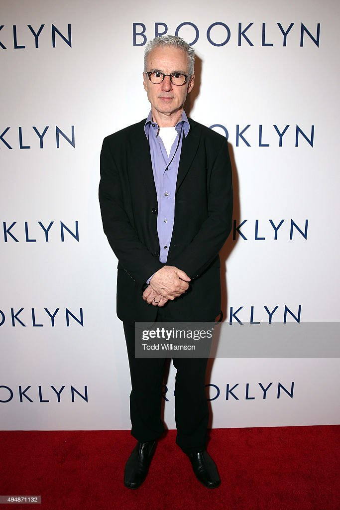 Composer Michael Brook arrives at the Los Angeles premiere of Fox Searchlight's 'Brooklyn' at the Harmony Gold Theatre on October 29, 2015 in Los Angeles, California.