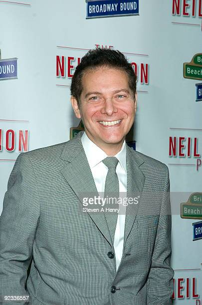 """Composer Michael Feinstein attends the opening night of """"Brighton Beach Memoirs"""" on Broadway at the Nederlander Theatre on October 25, 2009 in New..."""