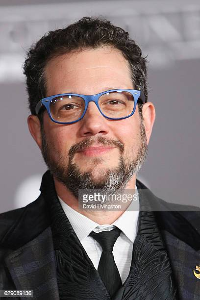 Composer Michael Giacchino arrives at the premiere of Walt Disney Pictures and Lucasfilm's Rogue One A Star Wars Story at the Pantages Theatre on...