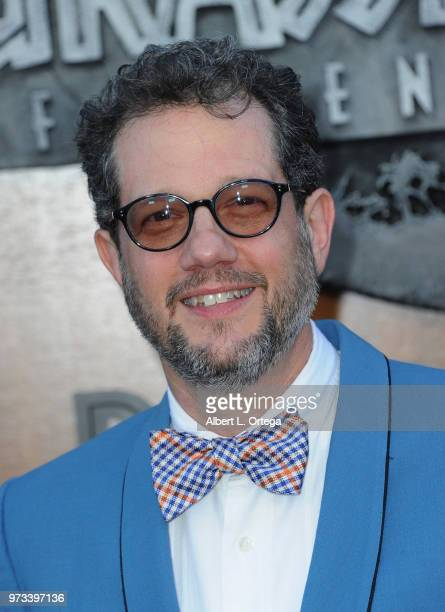 Composer Michael Giacchino arrives for the Premiere Of Universal Pictures And Amblin Entertainment's 'Jurassic World Fallen Kingdom' held at Walt...