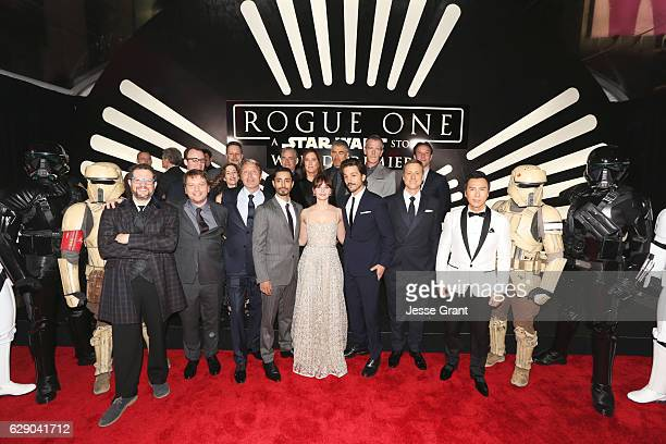 Composer Michael Giacchino director Gareth Edwards actors Mads Mikkelsen Riz Ahmed Felicity Jones Diego Luna Alan Tudyk and Donnie Yen Executive...