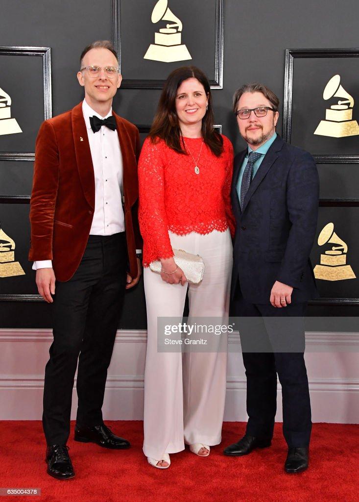 59th GRAMMY Awards -  Arrivals : News Photo