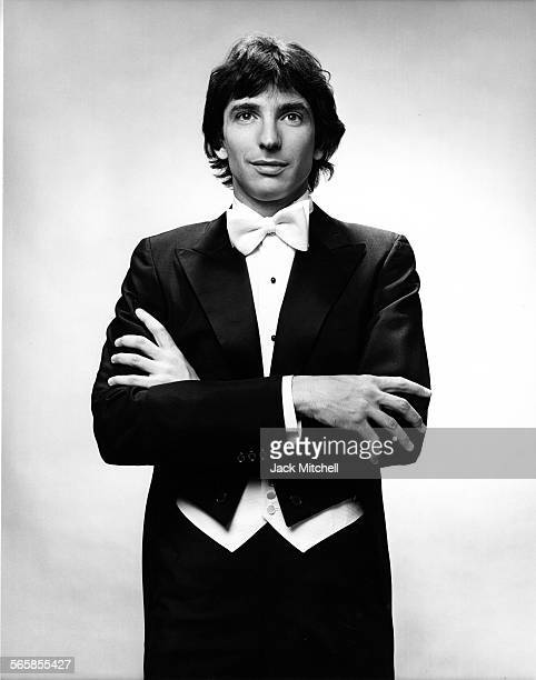 Composer Michael Tilson Thomas, 1971. Photo by Jack Mitchell/Getty Images.