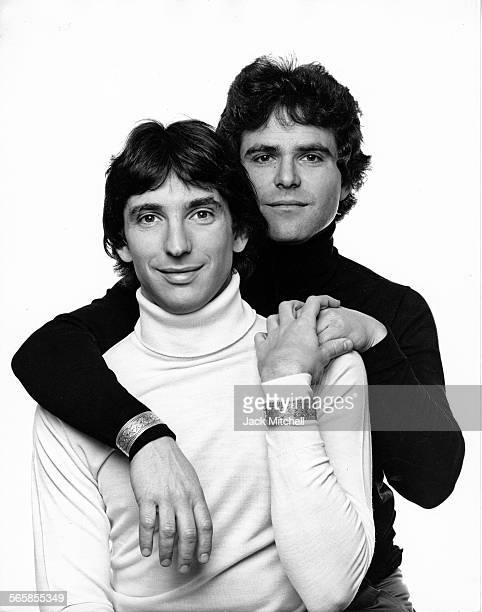 Composer Michael Tilson Thomas and partner Joshua Mark Robison, 1971. Photo by Jack Mitchell/Getty Images.