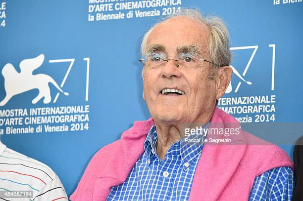 Composer Michel Legrand attends the La Rancon De La Gloire photocall during the 71st Venice Film Festival on August 28 2014 in Venice Italy