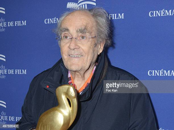 Composer Michel Legrand signs his book 'Rien N'Est Grave Dans Les Aigus' during the Cinema Et Musique De Film Festival At La Baule Day Five At Cinema...