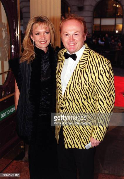 Composer Mike Batt with his wife actress Julianne White most famous for the Wombles theme tune at the opening night of the Lion King Musical at the...