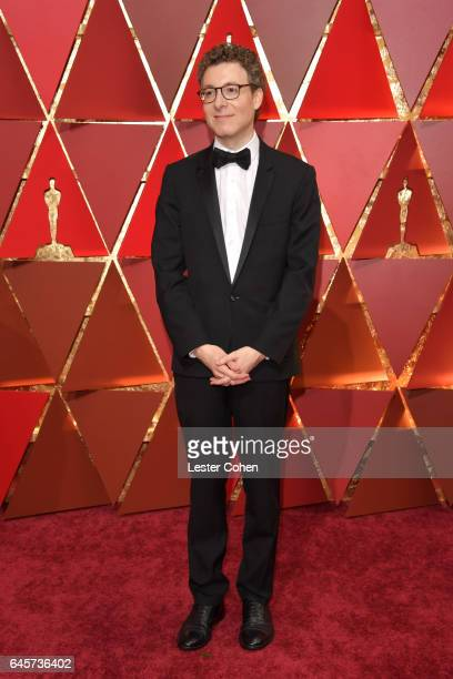Composer Nicholas Britell attends the 89th Annual Academy Awards at Hollywood Highland Center on February 26 2017 in Hollywood California