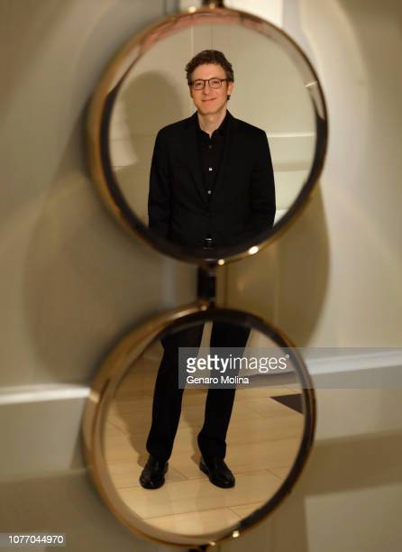 Composer Nicholas Britell is photographed for Los Angeles Times on November 6 2018 in West Hollywood California PUBLISHED IMAGE CREDIT MUST READ...