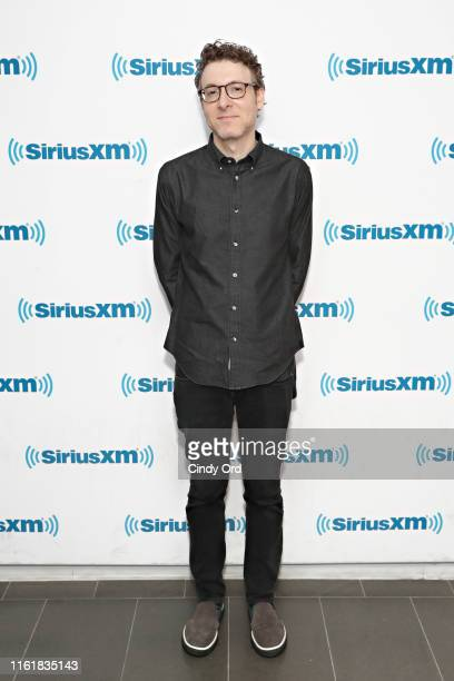Composer Nicholas Britell visits the SiriusXM Studios on August 15 2019 in New York City