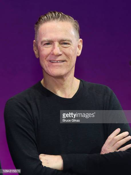 "Composer of ""Pretty Woman:The Musical"" Bryan Adams poses as the cast and creative team of ""Pretty Woman:The Musicial' celebrate 200 performances on..."
