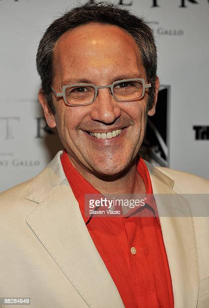 Composer Osvaldo Golijov attends the premiere of TETRO at the Directors Guild Theatre on June 7 2009 in New York City