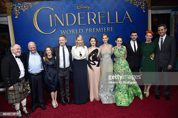 Composer Patrick Doyle producers David Barron and Allison Shearmur director Kenneth Branagh actors Cate Blanchett Holliday Grainger Lily James Sophie...