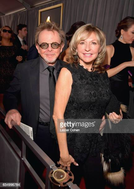 Composer Paul Williams and Mariana Williams attend The 59th GRAMMY Awards at STAPLES Center on February 12 2017 in Los Angeles California