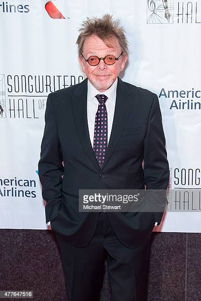Composer Paul Williams attends the Songwriters Hall of Fame 46th Annual Induction and Awards at Marriott Marquis Hotel on June 18 2015 in New York...