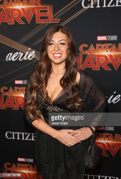Composer Pinar Toprak attends the Los Angeles World Premiere of Marvel Studios' Captain Marvel at Dolby Theatre on March 4 2019 in Hollywood...