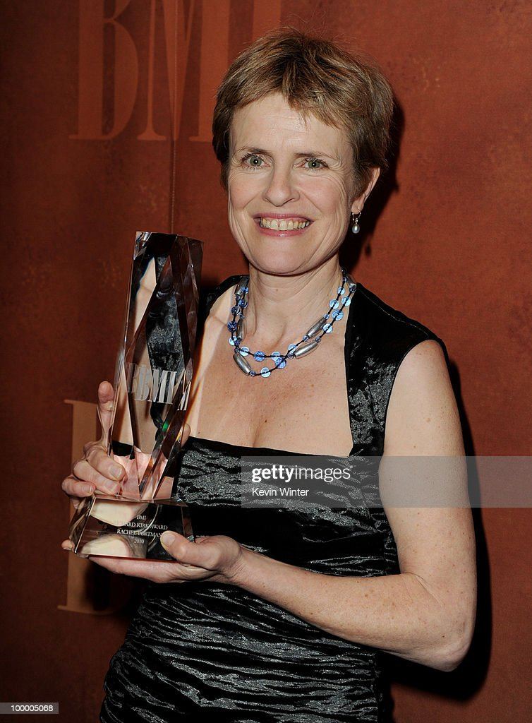 Composer Rachel Portman receives the Richard Kirk Award at the 2010 BMI Film and Television Awards at the Beverly Wilshire Hotel on May 19, 2010 in Beverly Hills, California.