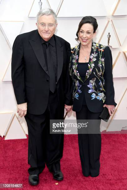 Composer Randy Newman and Gretchen Preece attend the 92nd Annual Academy Awards at Hollywood and Highland on February 09 2020 in Hollywood California