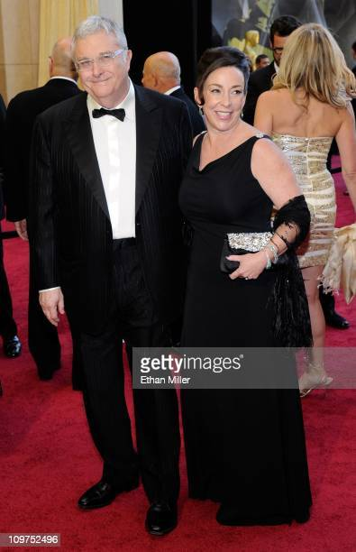 Composer Randy Newman and his wife Gretchen Preece arrive at the 83rd Annual Academy Awards at the Kodak Theatre February 27 2011 in Hollywood...