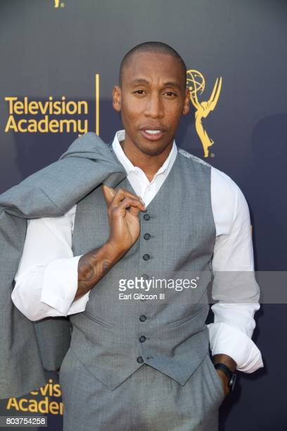 Composer Raphael Saadiq attends the Television Academy Hosts Words Music at Wolf Theatre on June 29 2017 in North Hollywood California
