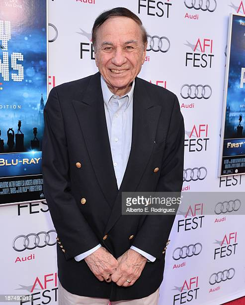 Composer Richard M Sherman attends the 50th anniversary commemoration screening of Disney's Mary Poppins during AFI FEST 2013 presented by Audi at...
