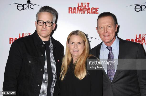 Composer Richard Patrick, Barbara Patrick and actor Robert Patrick attend the Premiere Of Epic Pictures Releasings' 'Last Rampage' at ArcLight...