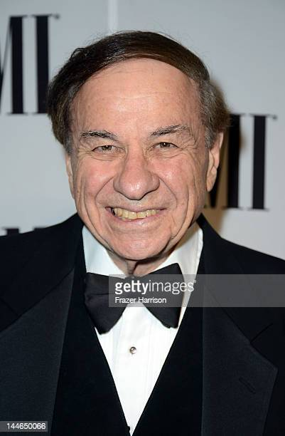 Composer Richard Sherman arrives at the 60th Annual BMI Film And Television Awards at the Four Seasons Beverly Wilshire Hotel on May 16 2012 in...