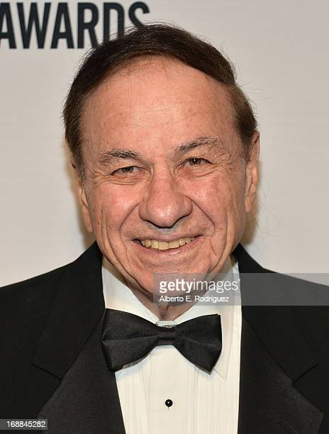 Composer Richard Sherman arrives to the BMI Film TV Awards Gala at the Regent Beverly Wilshire Hotel on May 15 2013 in Beverly Hills California