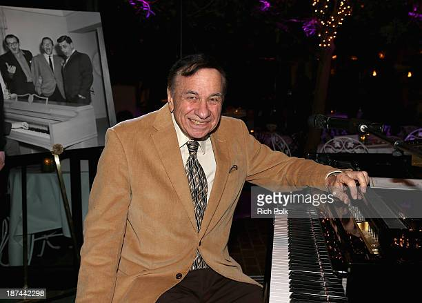 Composer Richard Sherman attends a special performance and singalong with Richard Sherman and the cast of Disney's 'Saving Mr Banks' at the Beverly...