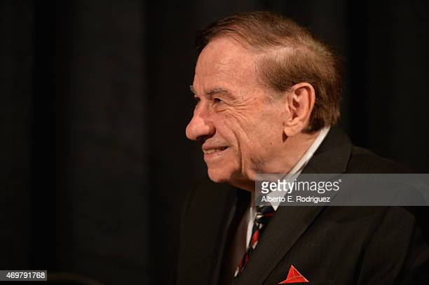 Composer Richard Sherman attends The Los Angeles Children's Chorus' Annual Gala Bel Canto honoring Ed Nowak and 'Frozen' songwriters Kristen...
