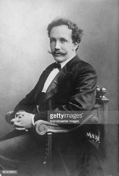 Composer Richard Strauss. Photograph around 1895