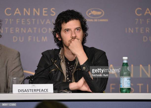 US composer Richard Vreeland aka Disasterpeace attends the 'Under The Silver Lake' Press Conference during the 71st annual Cannes Film Festival at...
