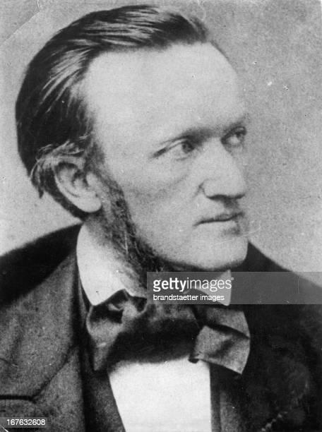 Composer Richard Wagner Germany Photograph About 1850 Komponist Richard Wagner Deutschland Photographie Um 1850