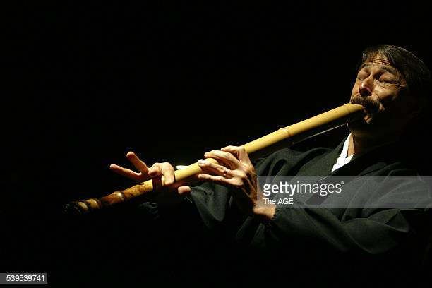 Composer Riley Lee playing the Japanese flute the shakuhachi Riley will play alongside the MSO tonight for the premiere performance of The Heart of...