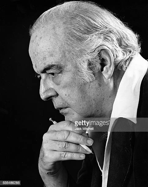 Composer Samuel Barber photographed in August, 1978.