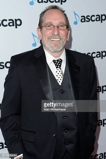 Composer Scott Gordon arrives at the 2016 ASCAP Screen Music Awardsat The Beverly Hilton Hotel on March 24 2016 in Beverly Hills California