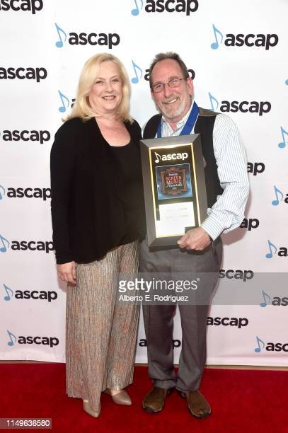 Composer Scott Gordon winner of the award for Top Network Television Series for 'Criminal Minds' and guest attend the ASCAP 2019 Screen Music Awards...