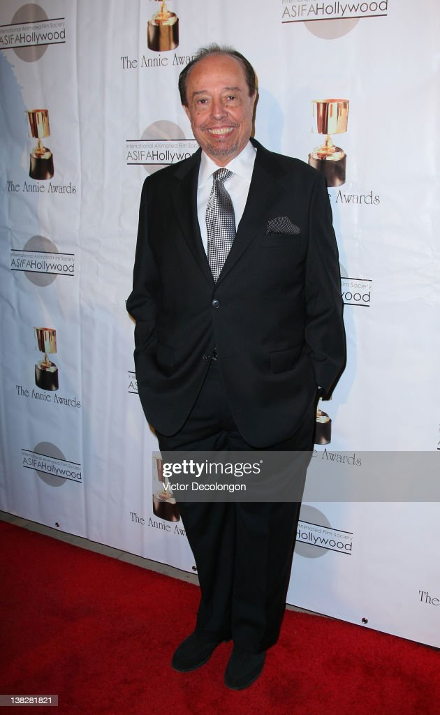 Composer Sergio Mendes arrives for the 39th Annual Annie Awards at Royce Hall, UCLA on February 4, 2012 in Westwood, California.