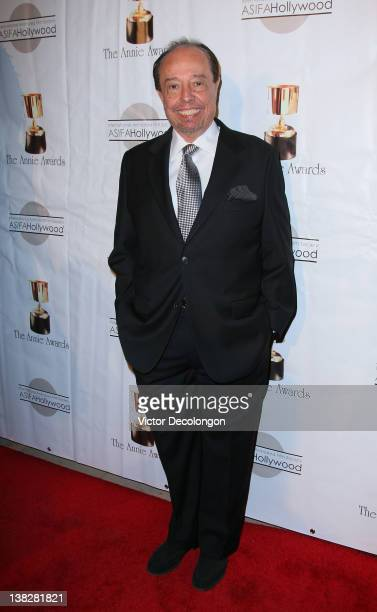 Composer Sergio Mendes arrives for the 39th Annual Annie Awards at Royce Hall UCLA on February 4 2012 in Westwood California