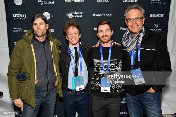 Composer Spencer Rabin Director Randall Christopher Producer Jared Callahan and Actor Mark Pinter attend the Filmmakers Welcome Reception during the...