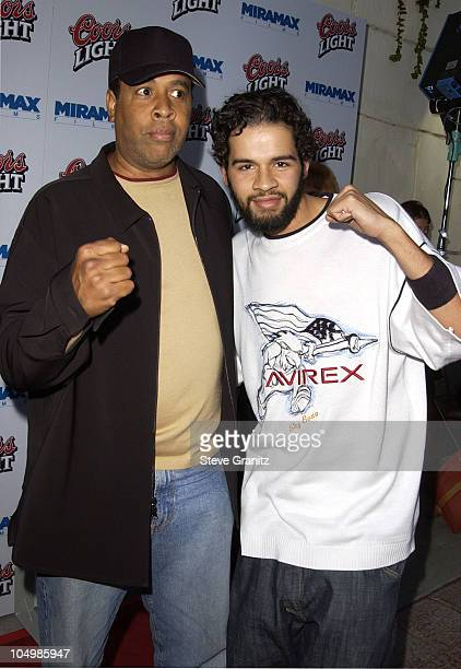 "Composer Stanley Clarke & son Chris during ""Undisputed"" Premiere at Mann Festival in Westwood, California, United States."