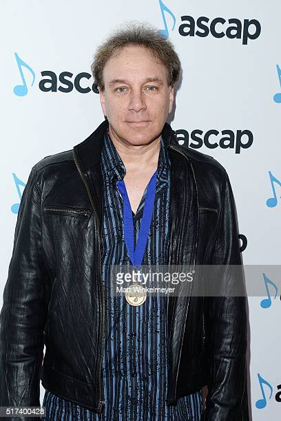 Composer Steffan Fantini arrives at the 2016 ASCAP Screen Music Awards at The Beverly Hilton Hotel on March 24 2016 in Beverly Hills California