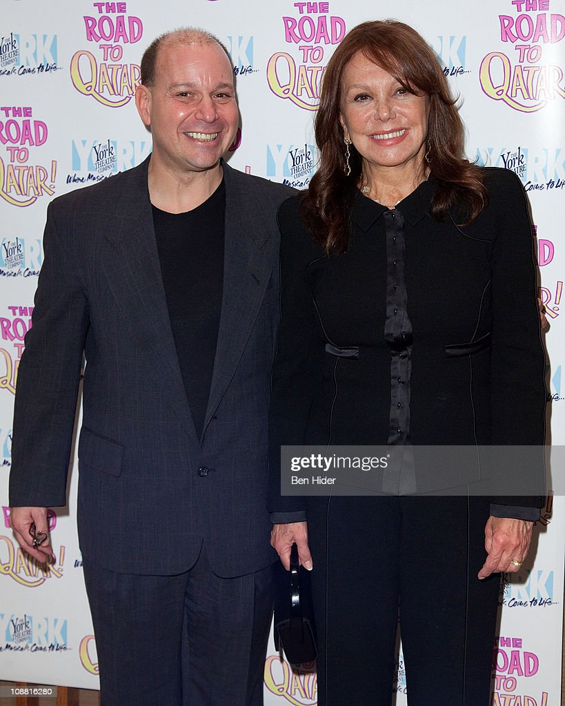 Composer Stephen Cole and Actress Marlo Thomas attends the Off-Broadway opening night of 'The Road to Qatar' at The York Theatre at Saint Peter's on February 3, 2011 in New York City.