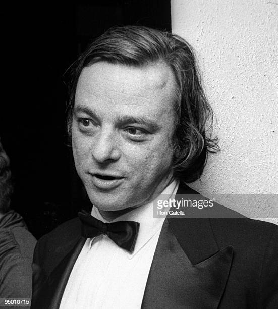Composer Stephen Sondheim attending 'A Musical Tribute to Stephen Sondheim' on March 11 1973 at the Shubert Theater in New York City New York