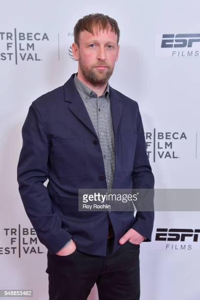 Composer Stuart Miller attends a screening of 'No Greater Law' during the 2018 Tribeca Film Festival at Cinepolis Chelsea on April 19 2018 in New...
