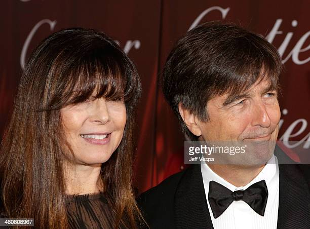 Composer Thomas Newman and Ann Marie Zirbes arrive at the 25th annual Palm Springs International Film Festival awards gala at Palm Springs Convention...