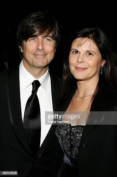 Composer Thomas Newman and wife Ann Marie Zirbes arrive at the 17th Annual Palm Springs International Film Festival Gala at the Palm Springs...